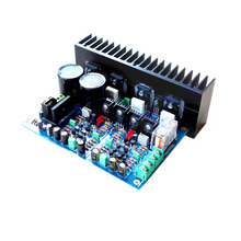 kaolanhon 120W*2 A3 replaces LM3886 fully symmetric double differential FET power amplifier board UPC1237 protection circuit