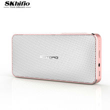 Mini Wireless Bluetooth Speaker for Phone with Mic SKhifio fi PC Computer USB Portable Stereo Bass Speaker for Xiaomi Mobile