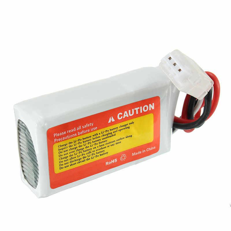 ZOP power 7,4 V 1000 mAh 70C 2 S Lipo батарея с JST вилкой