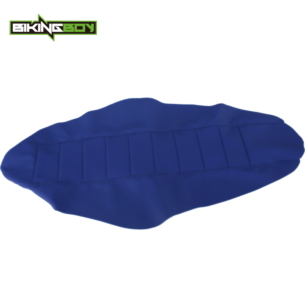 BIKINGBOY Supermoto MX Motocross Offroad Ribbed Gripper Soft Seat Cover for YAMAHA YZ125 YZ250 YZ 125 250 02 03 04 05 06 07 2017
