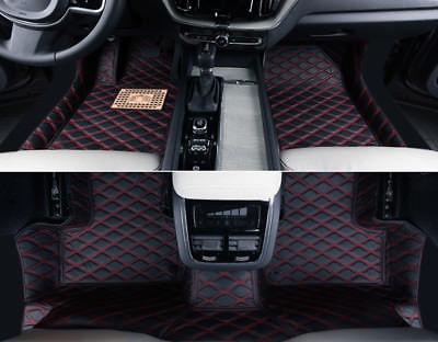 Left Hand Drive! Leather Car Floor Mat Pad FloorLiner For Volvo XC60 2018-2019
