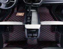 цена на Left Hand Drive! Leather Car Floor Mat Pad FloorLiner For Volvo XC60 2018-2019