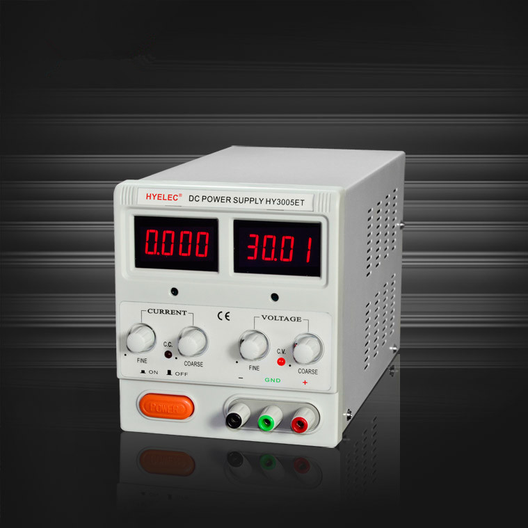 HY3005ET Portable Adjustable 30V 5A DC Power Supply with LED Indicators for Mobile Computer Repair  Free Shipping cps 6011 60v 11a digital adjustable dc power supply laboratory power supply cps6011