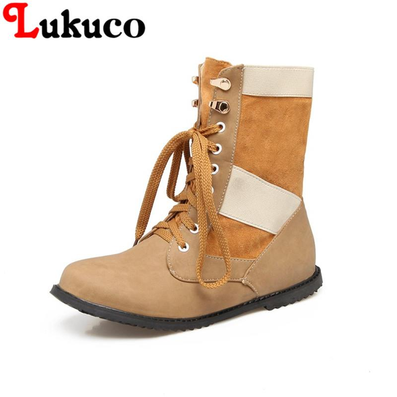 2018 NEW HOT SALE elegant lady WINTER boots plus size 40 41 42 43 44 45 46 47 48 high quality flats real pictures free shipping