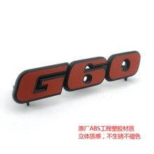 Хром Passat 35i логотип Corrado наклейка Golf 2 Golf 3 значок G60 Надпись Логотип двигателя эмблема G60 гриль эмблема автомобиля