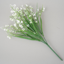 5 Forks DIY Simulation Craft Gift Bride Wreath Scrapbooking Fake Flower Valley Orchid Artificial Flowers For Home Decoration