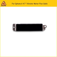 10PCS/LOT 100% TEST WORKING vibrator Vibration Flex Cable For iPhone 6 6G 4.7