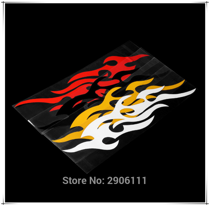 Universal Car Sticker Styling Motorcycle Decal Accessories Auto Flame Fire for DAIHATSU terios sirion yrv charade feroza mira