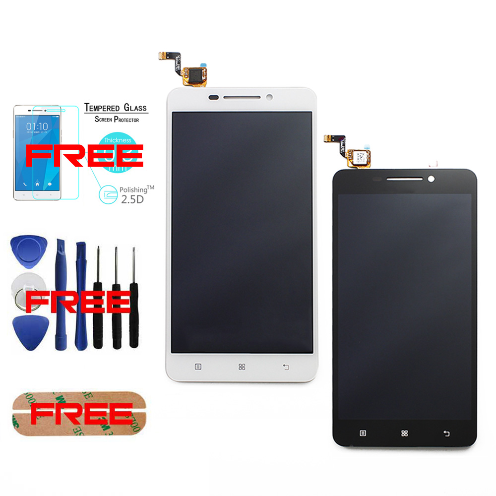New Original For Lenovo A5000 Tools Sticker Tempered Glass A5000 LCD Display font b Touch b