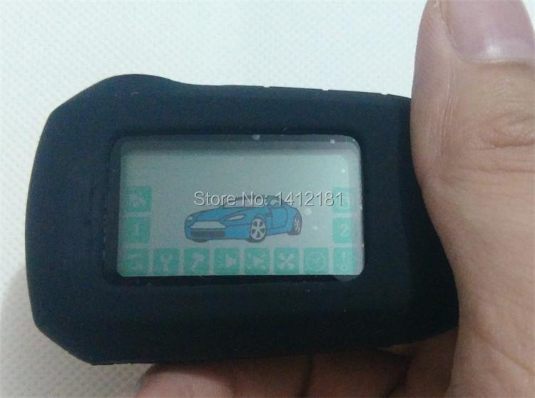 Prix pour 2-way A92 LCD Télécommande Clé Fob Chaîne/Porte-clés pour Version Russe à Deux Voies Système D'alarme De Voiture Starline A92