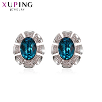 Xuping Luxury Jewelry Stud Earrings Hiphop Rock Style Crystals from Swarovski Exquisite Party Gifts for Women S143.5 93826