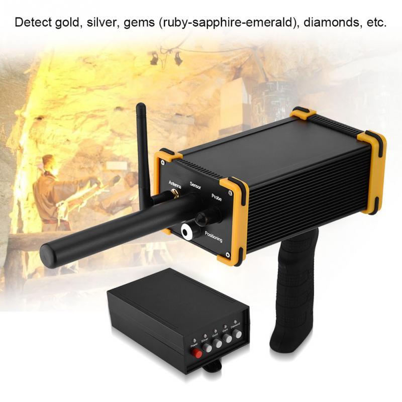 GR-100 mini Underground Treas Metal Detector Black Hawk Best Laser Pointing Techlogy Underground Treasure Hunter DHL Free Ship цена