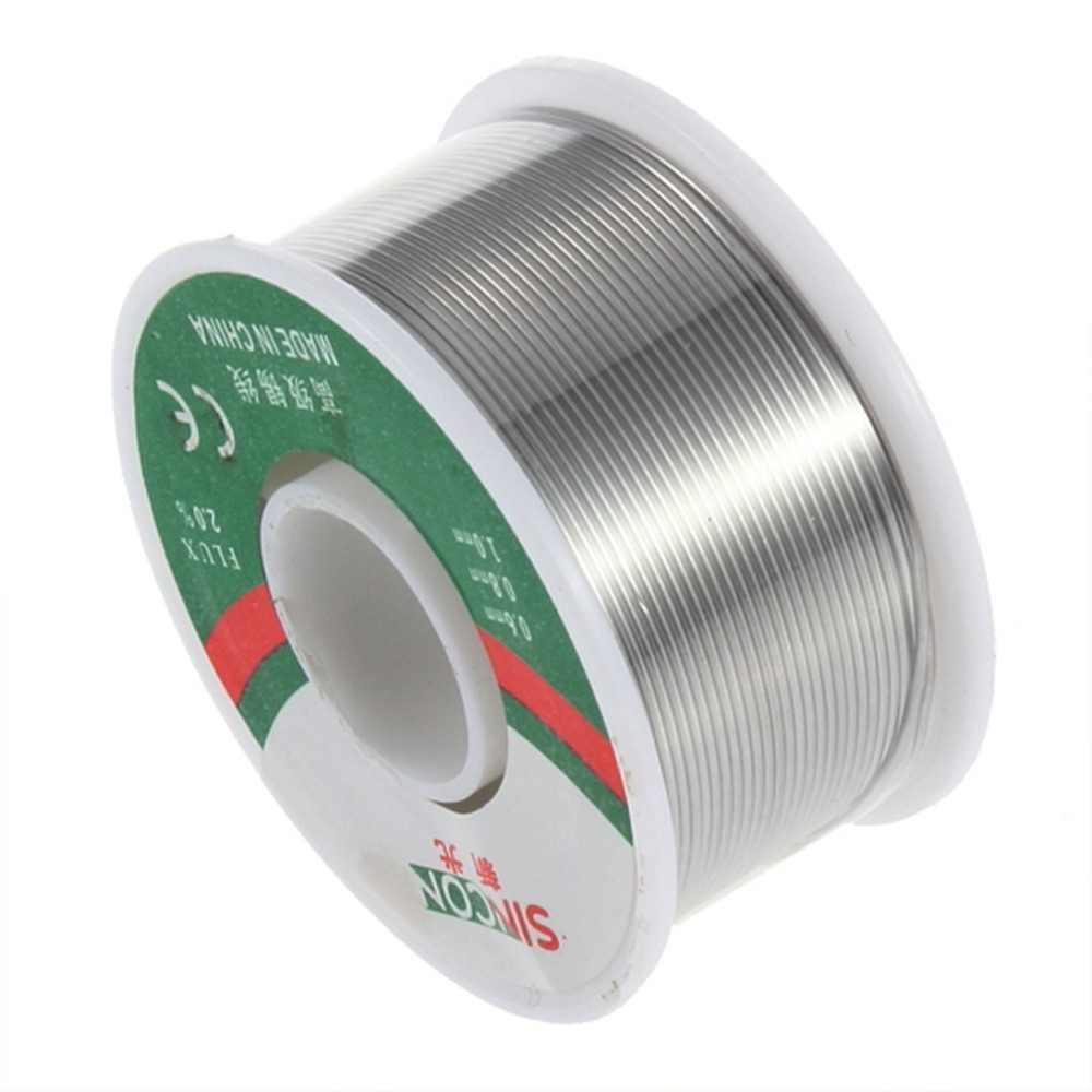 0.8mm 100g Diameter Rosin Core Tin Lead Solder Wire Soldering Welding Flux 2.0% Iron Wire Reel