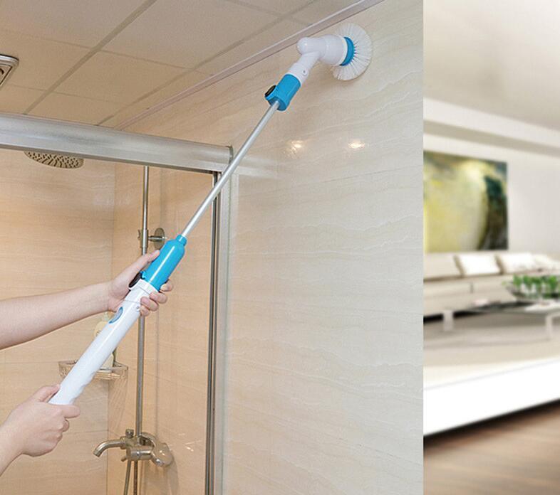 Tub Tile Cordless Power Scrubber Turbo Scrub Bathtub Tiles Floor 360 Rechargeable Scrubber Hotel & Home Bathroom Clean Tool