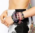 Новая мода ювелирные изделия Богемный стиль Weave шарм дружба браслет для девушки женщин влюбленных B3098