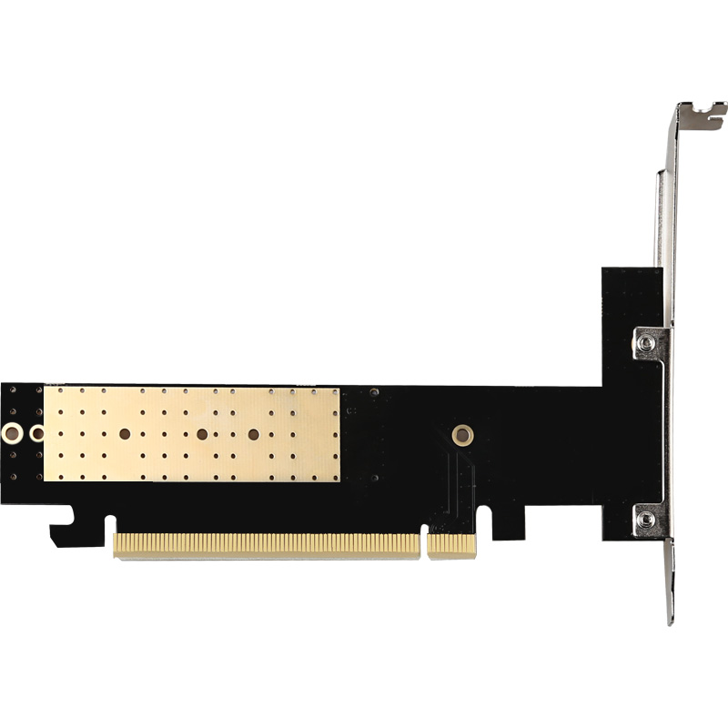 high speed PCIe X16 3.0 to M.2 SDD NVME riser card