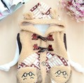 On Sale 2016 New Fashion Winter Baby Girls Baby Boys vest Thickening Infant Warm Vests A319