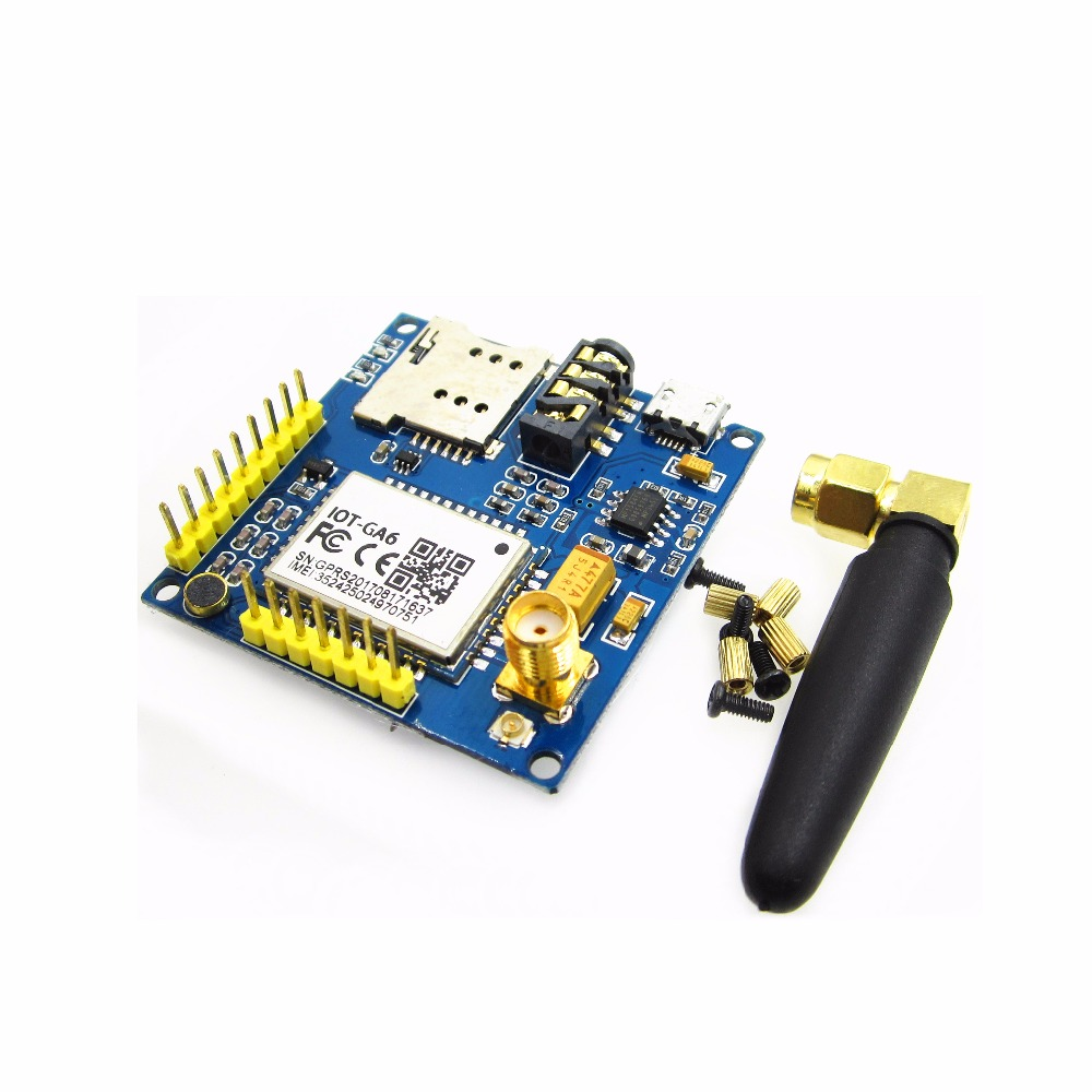 GPRS Pro Serial A6 GPRS GSM Module Core DIY Developemnt Board Replace SIM900 sim868 development board module gsm gprs bluetooth gps beidou location 51 stm32 program