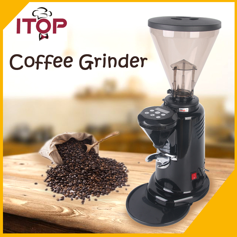 ITOP CG-700AC Coffee Bean Grinder Commercial Milling machine Professional Coffee Powder maker 350W 1000g swing food grinder milling machine small superfine powder machine for coffee soybean herb sauce grain crops