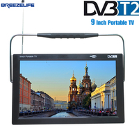 Breezelife TV Portable TV Portable Car TV Dvbt2 Portable TV 9 Inch 10 Inch DVBT Digital