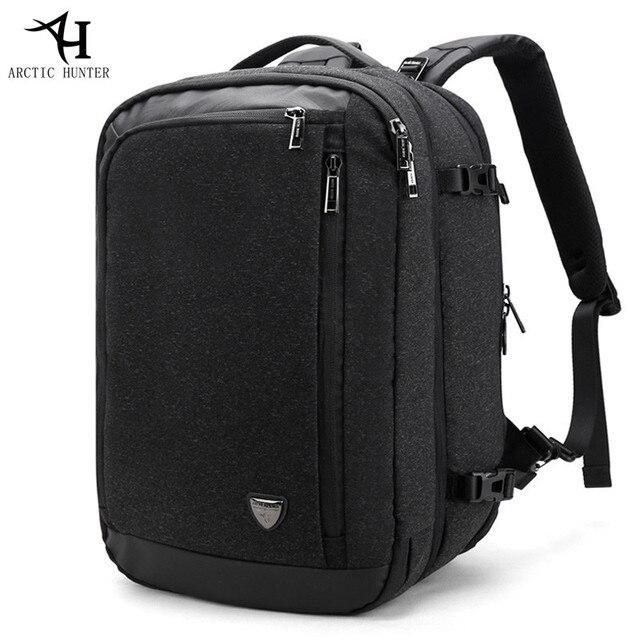 1e57b8a082 2018 ARCTIC HUNTER Disassemble Multifunction 17 inch Laptop Backpacks For  Teenager Business Men Travel Backpack Bag