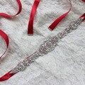 XW51 Чистый Роскошный Горный Хрусталь Невесты Пояса Талии Печать Внешней Торговли Эстетизм Свадебное Платье Парадной Части Пояса Аксессуары