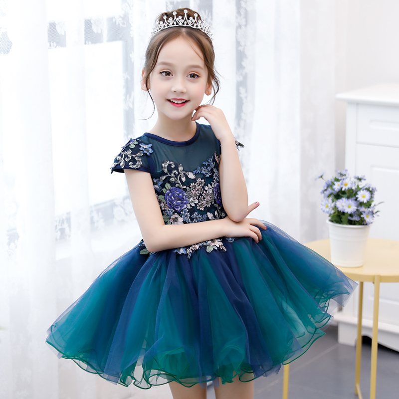2018 spring girls formal dresses for girl fancy prom party wear kids clothes children clothing girls teens tutu dress vestidos new year formal gown princess summer 2017 new party dress girl children clothing prom wedding kids clothes girls tutu dresses