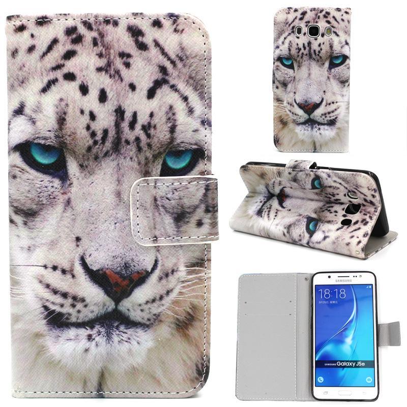 For Coque Samsung Galaxy J5 2016 Case Leather Wallet Flip Cover For Fundas Samsung Galaxy j5 2016 Phone Case J510F J5 6 J5 2015