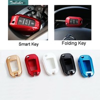 1 Pcs DIY Car Styling New ABS Print Five Color For Smart And Folding Key Cover