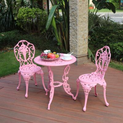 3 Piece White Bistro Patio Set Table And 2 May Chairs Furniture Garden Outdoor Seat