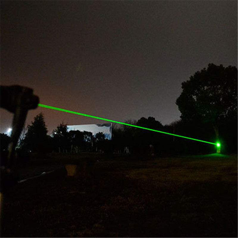 Image 3 - 10000m Red+Green Laser Sight 2 In 1 Waterproof High Power Laser 303 Pointer Metal Adjustable Lazer Pen For Hunting Camping-in Lasers from Sports & Entertainment