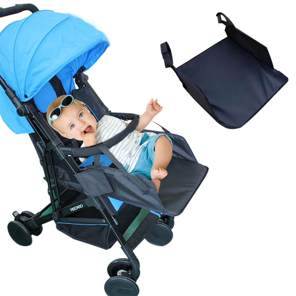 Baby Stroller Universal Footrest  Extended Seat Pedal 32cm Child Infant Stroller Accessories Cloth + PE Suitable For Many Models