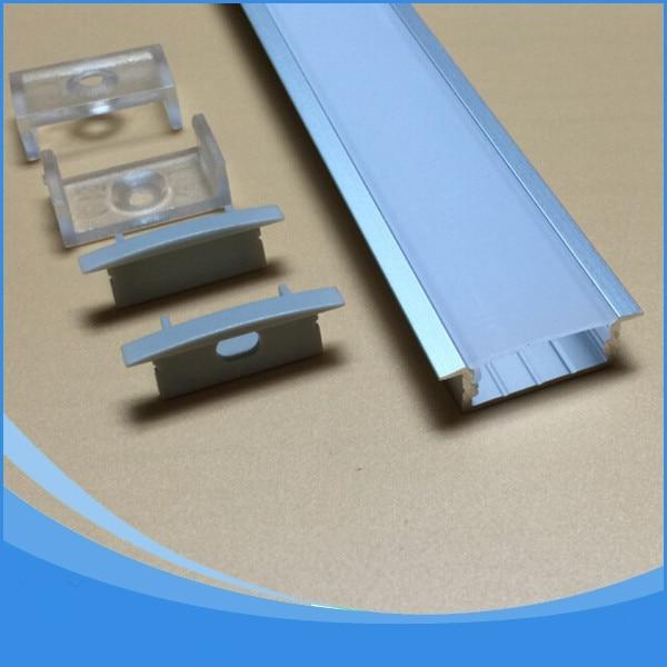 20PCS-2м ұзындығы кең алюминий профилі - - LED Жарықтандыру - фото 1