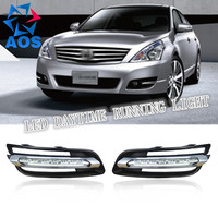 2PCs/set Super Bright LED DRL waterproof Daylight Daytime Running lights For Nissan Altima Teana 2010 2011 2012