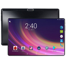 Super Tempered 2.5D Kaca Tablet 10 Inch Android 8.0 Octa Core 4 GB RAM 64 GB ROM 8 Core 1280*800 IPS Layar Tablet 10.1 + Hadiah(China)