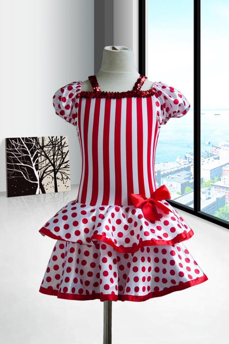 Naujos vaikiškos suknelės mergaitėms Vaikų šokių apranga Pėdkelnės kostiumas Moterų vaikų princesė suknelė Lotynų suknelė mergaičių šokių drabužiai
