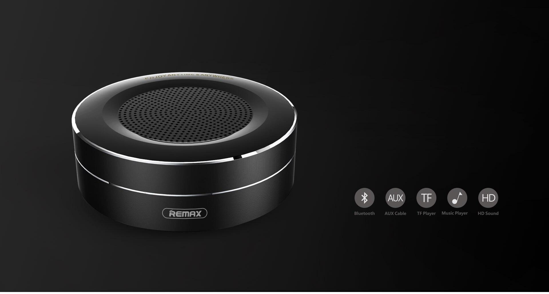 Remax Bluetooth Portable Speaker RB-M13 - Black