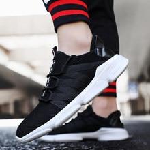92d0045c637211 Lente zomer Populaire Mannen Casual Schoenen Fashions merken ademend Lace-up  mannelijke schoenen sneakers hombre Zwart Rood Leis.
