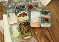 Doll House Diy miniature 3D Wooden Puzzle Dollhouse miniaturas Furniture Theatre Trilogy For Birthday Gift Toys -Snow Dream