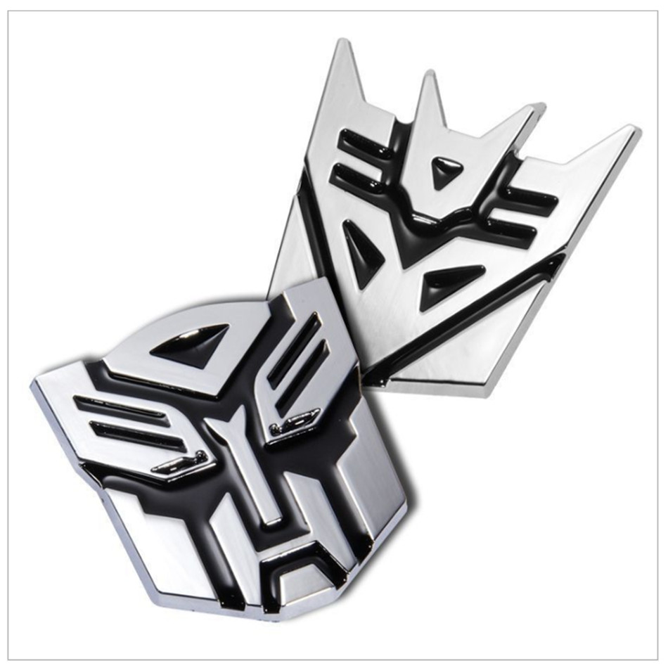 Transformers metal sticker for <font><b>Audi</b></font> Q3 <font><b>Q5</b></font> <font><b>SQ5</b></font> Q7 A1 A3 S3 A4 S4 RS4 RS5 A5 A6 S6 C6 C7 S5 A7 Car-Styling sticker Accessories image