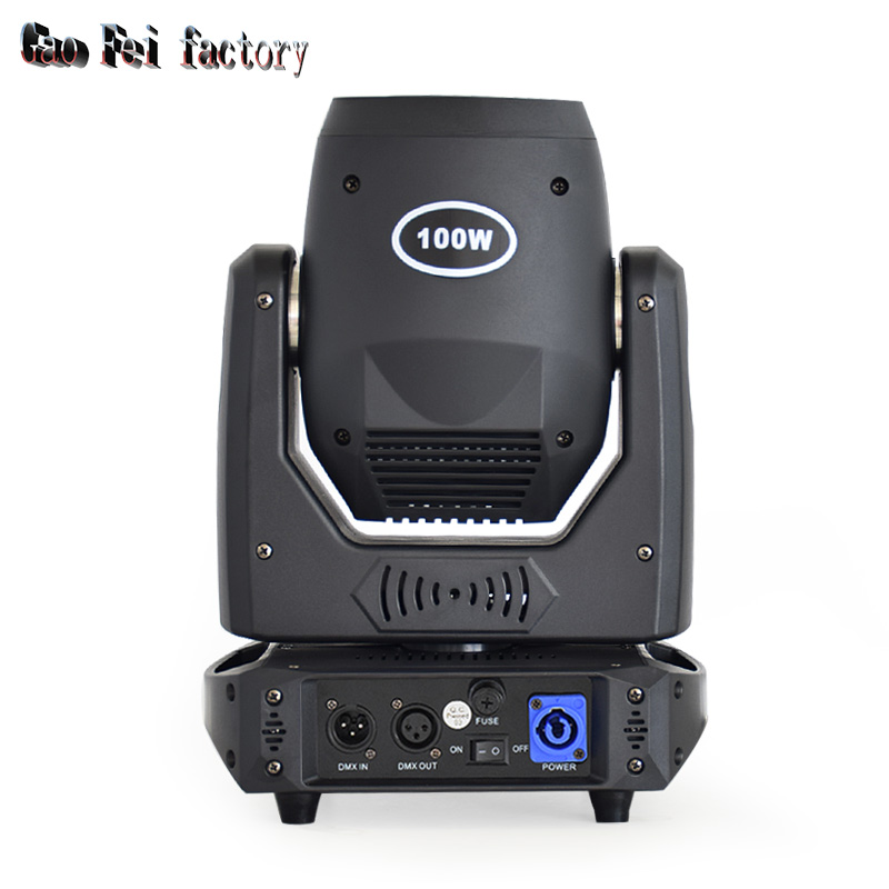stage light moving head LED 100W sport light gobos with colors and prism dmx 512 led stage lighting for dj - 2
