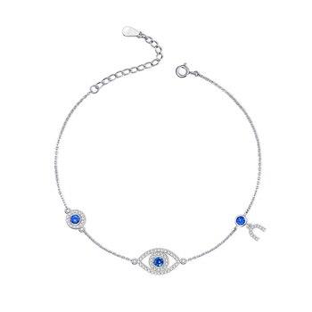 63cdf6bcd591 KALETINE suerte mal de ojo pulseras para las mujeres de lujo de Plata de Ley  925 pulsera de plata regalo para chica niños joyería mis órdenes de  Aliexpress