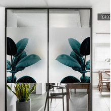 Frosted glass stickers Ins Nordic pineapple Bathrooms balcony door windows electrostatic transparent opaque film