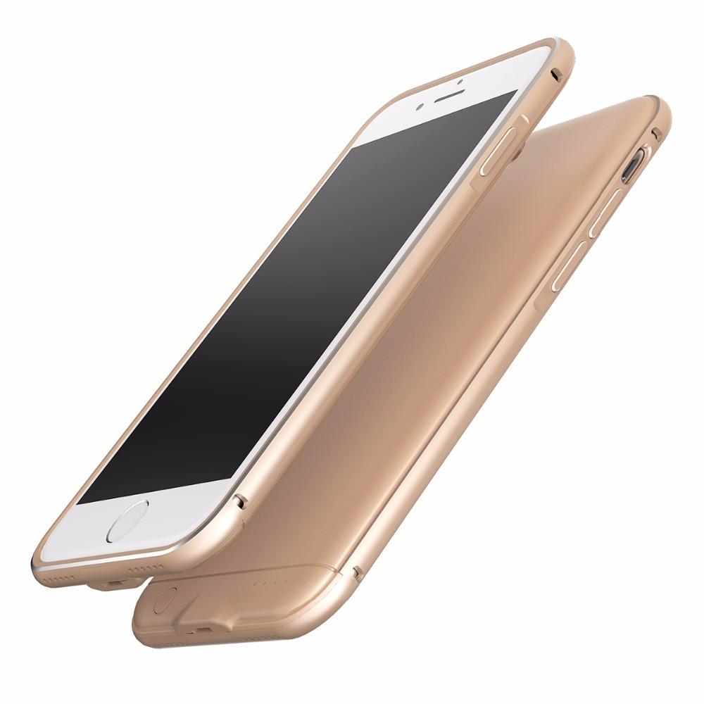 imágenes para Envío gratis 2017 Delgado Portátil cargador Extendido caso para iphone6 6 s caja de la batería con 2600 mAh 4.7 pulgadas sólo