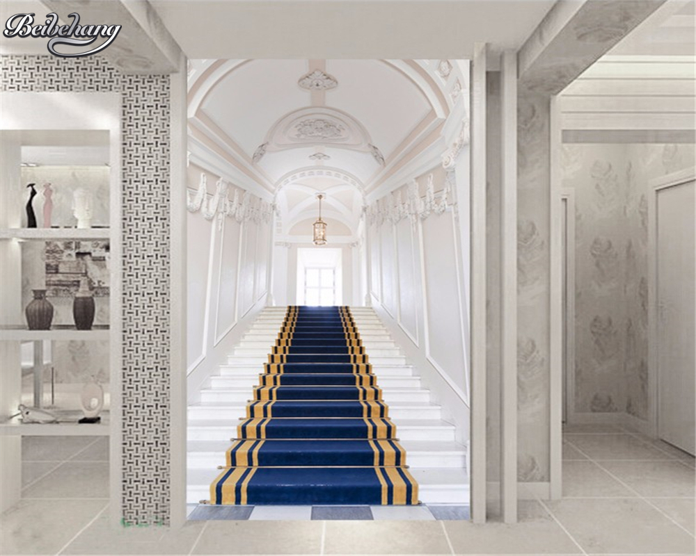 Beibehang palace corridor custom wall wallpaper wall 3 d - Decorating walls with pictures ...