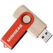 Miniseas Wooden Usb Flash Drive 8G/16G/32G/64G Memory Pen Drive For PC
