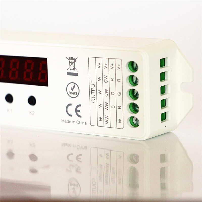 DC 12 V 24 V 15A Mi lumière LS1 4 en 1 intelligent CCT DIM RGB RGBW LED contrôleur de bande avec sans fil 2.4G RF FUT090 télécommande