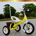 Estrutura de Aço de alta Qualidade Crianças triciclo Com Bar Seguro, Trike Do Bebê