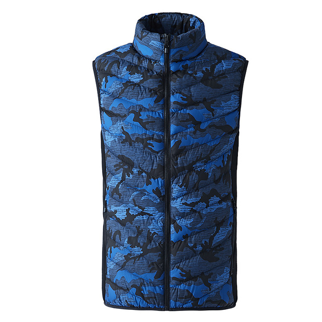 Toppick New Men&Women Electric Heated Vest Winter Thermal Warm Heating Vest Camouflage Heated Jacket Fishing Big Size Waistcoat 1