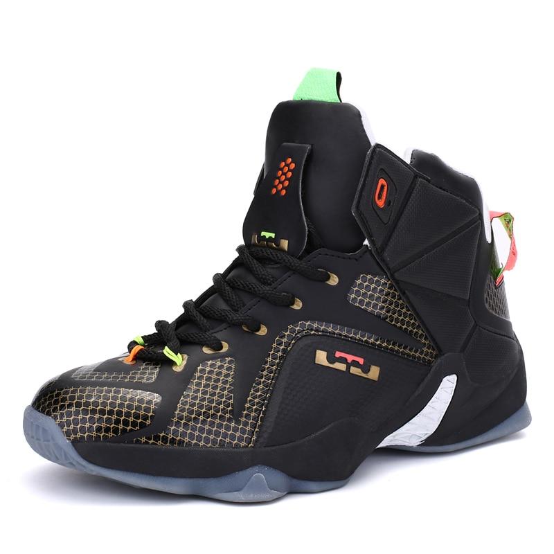 Nouveau Basket-Ball Chaussures hommes Chaussures de Sport Athlétique D'entraînement De Basket-Ball pour hommes Bottes Chaussures Hommes Baskets Grande Taille 45